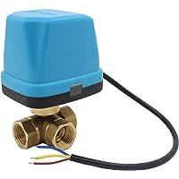 vanne 3 voies motorisée 220v electrovanne motorisée 220v vanne a bille 1/2 3/4 1 1-1/4 1-1/2 pouce (DN15 1/2 pouce)