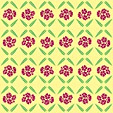 Berlintapete - Wallpaper On Demand - Designtapete - Floral - Kulturen - Sonniges Vintage Blumenmuster Nr. 13744