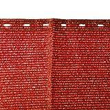 Sichtschutz Zaunblende Windschutz Schattiernetz Optima von Friedola in verschiedenen Farben 5 m x 90 cm (orange)