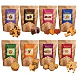 #3: Hand-Baked Gluten Free Dog Biscuits Party Pack-Eight Flavours(Pack Of Eight)