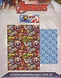 Set Bettwäsche Bettwäsche Einzelbett Captain America Marvel Avengers