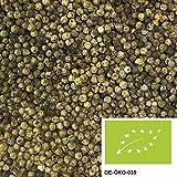 200g Pepe verde Malabar BIO, pepe verde intero in grani ideale per il mortaio o macinapepe