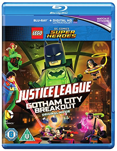 LEGO DC Justice League: Gotham City Breakout (includes Nightwing Minifigure) [Blu-ray] [2016] UK-Import, Sprache-Englisch.