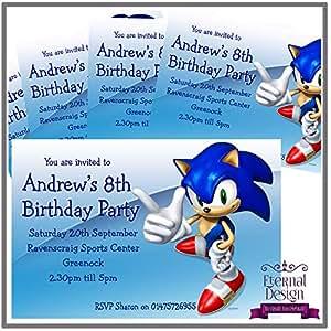 Eternal Design Einladungskarten zum Kindergeburtstag