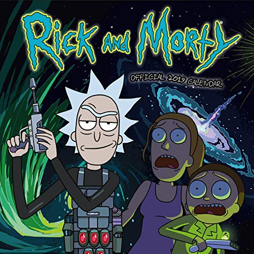 Rick and Morty Official 2019 Calendar - Square Wall Calendar Format par Rick and Morty