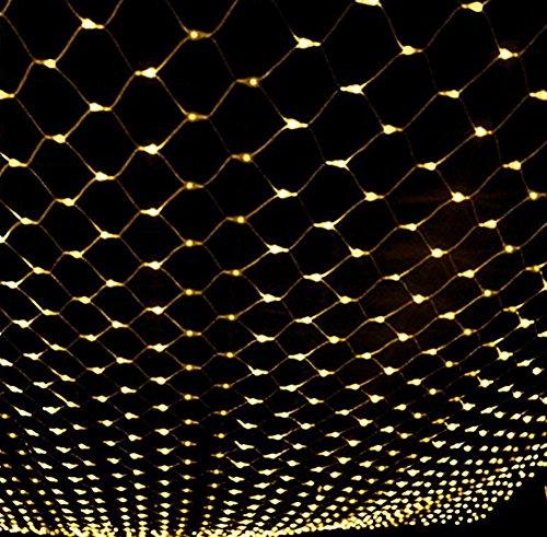Licht ,fee nets lampe,204lampe bead,[outdoor wasserdicht],Weihnachten day dekoration-Warmweiß 2m*3m(79x118inch) ()