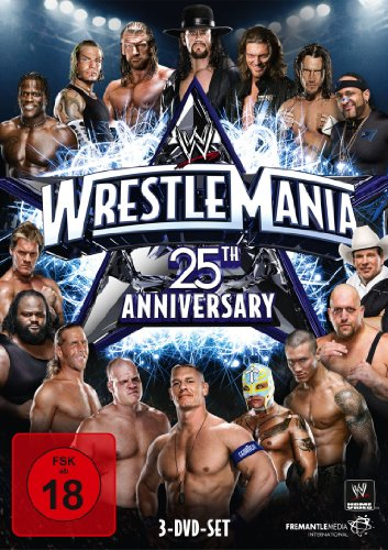 WWE - Wrestlemania XXV (3 Discs, 25th Anniversary) - Wwe-wrestlemania