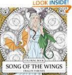 Song of the Wings Coloring Book: Drag...