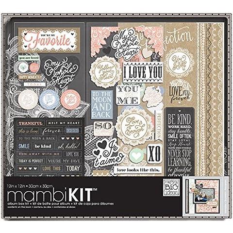 Me y My Big Ideas Me y My Big Ideas box-79Lacey encanto álbum Kit de caja, 12por 30,48cm
