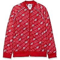 Adidas DI0263 Chaqueta, Niños, Rojo (Collegiate Red) / Blanco, 146 (10/11 años)