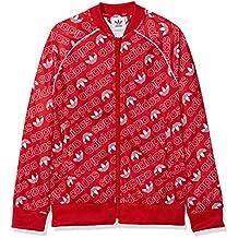 adidas DI0263 Chaqueta, Niños, Rojo (Collegiate Red) / Blanco, 146 (