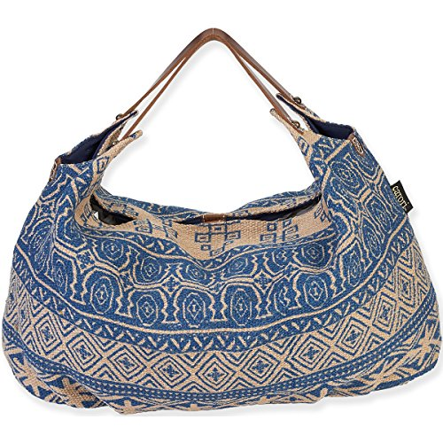 laurel-burch-catori-hobo-tote-1524-x-23-x-15-cm-x-3810-6-inch-sufi-colore-blu