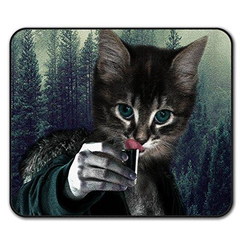Prost Trinken Komisch Katze Mouse Mat Pad, Wild Rutschfeste Unterlage - Glatte Oberfläche, verbessertes Tracking, Gummibasis von Wellcoda -