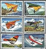 Rumänien 3880-3885 (kompl.Ausg.) 1982 Drachenfliegen (Briefmarken für Sammler)