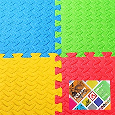 Wholesale Solutions® - Foam Interlocking Floor Mats Childrens Kids Play Flooring - low-cost UK light store.