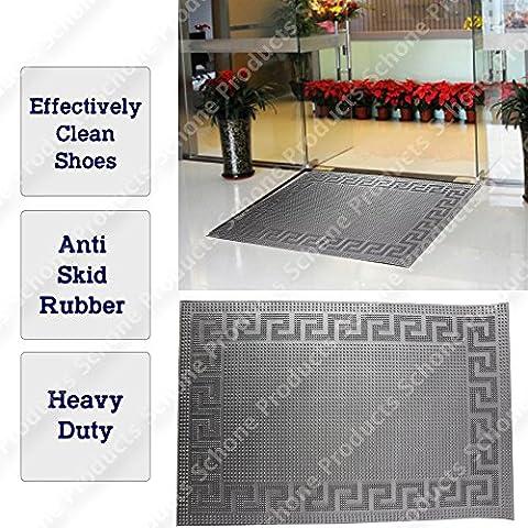 Home Office porta di ingresso Mats, aiuta a pulire scarpe, Heavy Duty non SIP pavimento tappeto