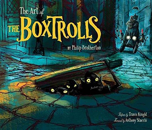 Art of the Boxtrolls por Phil Brotherton