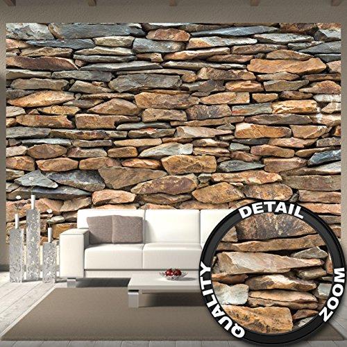 Fototapete Schiefer Stonewall Wandbild Dekoration 3d Steintapete Stein  Muster Tapete Steinoptik Wand.