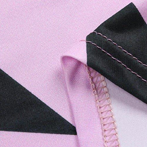 Donne Camicetta,EUZeo Star senza spalline Felpa manica lunga maglia maglione maglione cime Viola