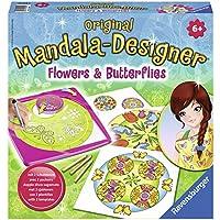 Ravensburger - 29809 - Peinture Au Numéro - Flowers & Butterflies 2 En 1 Mandala