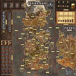Asmodee Italia - Juego de Mesa de Juego de Tronos 2nd Edición La Madre de los Dragones Gamemat, Color, 7214