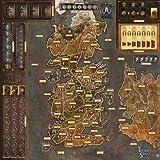 Asmodee Italia-Il Trono di Spade Il Gioco da Tavolo 2nd Edizione La Madre dei Draghi Gamemat, Colore, 7214