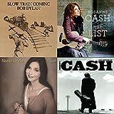 Bob Dylan, Johnny Cash, Neil Young, et tous les meilleurs artistes Country Folk.