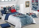 Textilonline - Funda Nordica 3 Pzas. Sidney (Cama 90 cm, Color Unico)