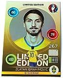 Panini Adrenalyn EURO 2016 - Zlatan Ibrahimovic Schweden limited Edition Karte Hero