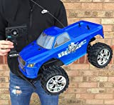 New Large HAVOC 1:10 Scale Off Road RC Radio Remote Control Monster Truck Rechargeable