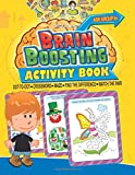 Brain Boosting Activity Book: Match the Pair, Find the Difference, Maze, Crossword, Dot-to-Dot  (6+ Yrs)