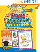 #4: Brain Boosting Activity Book: Match the Pair, Find the Difference, Maze, Crossword, Dot-to-Dot  (6+ Yrs)