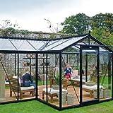 ACD Glas Gewächshaus Orangerie Melina
