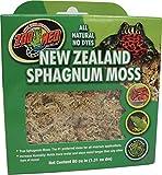 Zoo Med CF3-NZE New Zealand Sphagnum Moss, 1.31 l natürliches Torfmoos-Substrat zur Feuchtigkeitsregulierung im Terrarium