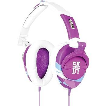 Skullcandy S6SKDY-136 Skullcrushers Over-Ear Headphone (Purple/White)