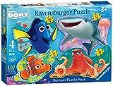 Ravensburger Italy 05472 5 - Puzzle Alla Ricerca di Dory, 4 Sagomati