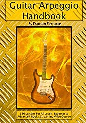 Guitar Arpeggio Handbook, 2nd Edition: 120-Lesson, Step-By-Step Guide to Guitar Arpeggios, Music Theory, and Technique-Building Exercises, Beginner to Advanced Levels (Book & Videos) by Damon Ferrante (2013-05-31)