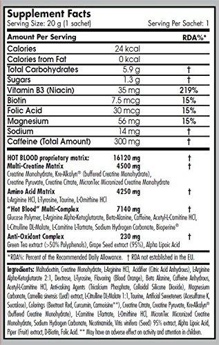 Scitec Nutrition - HOT BLOOD 3.0 - Blood Orange - Net Wt:...