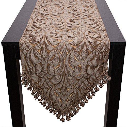 Sherry Kline Canyon geprägt Tischläufer, Bronze, 33x 274,3cm -