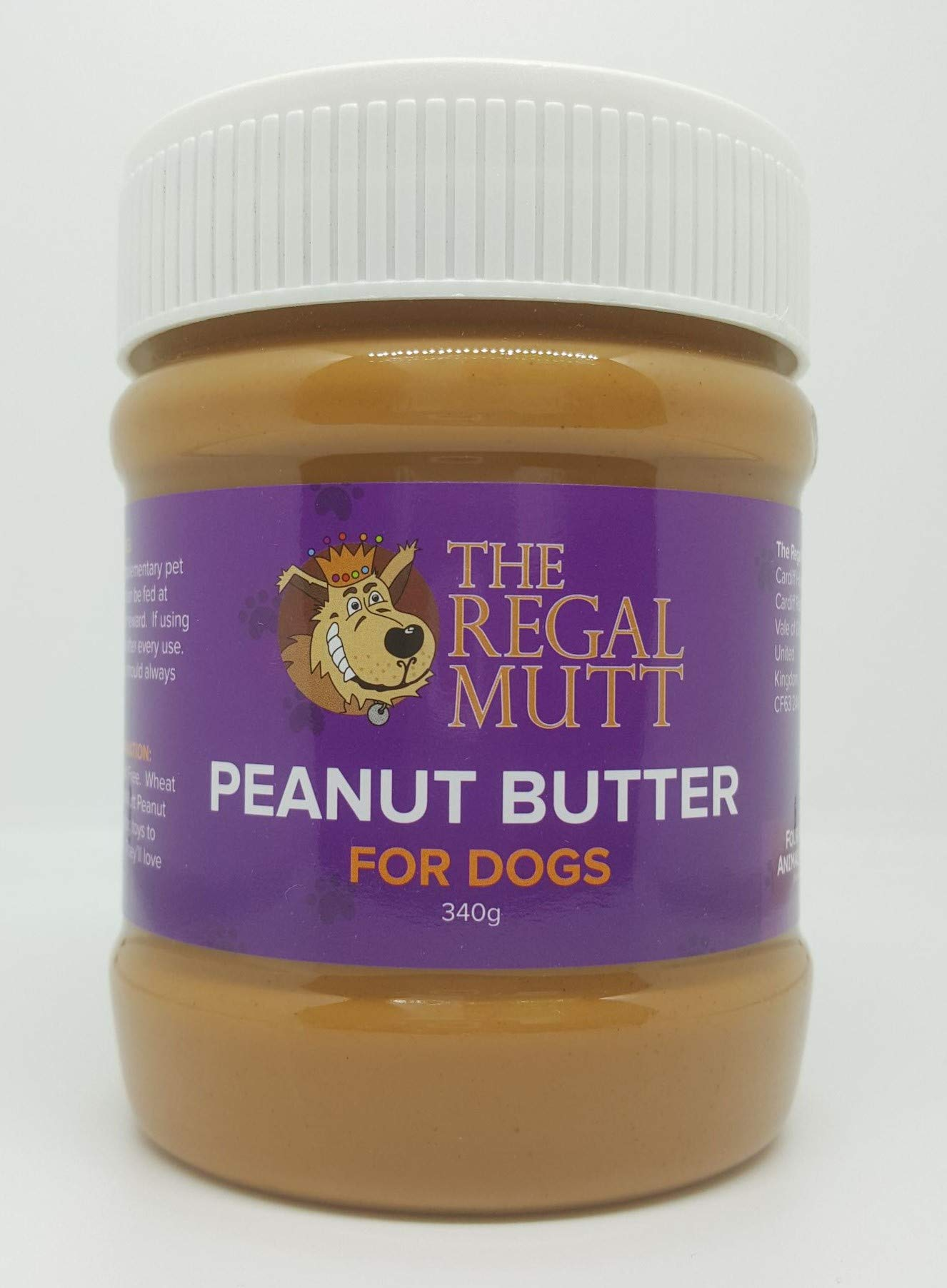 The Regal Mutt – Peanut Butter for Dogs