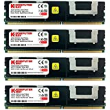 Komputerbay 16GB (4x 4GB) DDR2 PC2-5300F 667MHz CL5 ECC Fully Buffered FB-DIMM (240 PIN) 16 GB w/ Heatspreaders