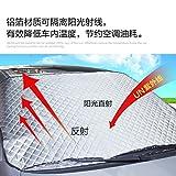 Upper-Agenti addensanti e aumentando la protezione contro il sole di automobile tinta parabrezza anteriore cofano tenda parasole auto con blocco solare,auto