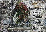 Impressionen von der Isola San Giulio (Wandkalender 2020 DIN A2 quer): Ein kleiner Rundgang auf der Isola San Giulio (Monatskalender, 14 Seiten )