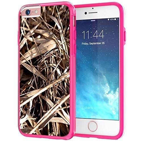 iPhone 66S Plus 14cm Coque, True Color® véritable HD Camo Arbre Herbe Paille Hunter Slim hybride rigide + Soft TPU Bumper de protection durable [True protéger Série] + Gratuit stylet et film protecteur d'écran