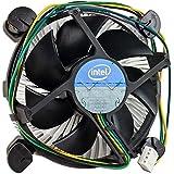 Intel Original Heatsink Fan Cooler E97379-001 for Socket LGA1155 for cleron i3 i5 i7 3.30 GHz (Black)
