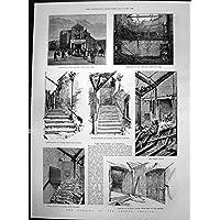 Stampa Antica di Bruciatura dell'Esterno del Cerchio