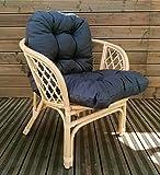 Mayaadi Home Sitzpolster Polsterauflage Niederlehner Bankauflage Stuhlauflage Sitzkissen Marcos 57x50x50x12cm JCG03 Dunkelgrau