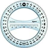 Maped - Fournitures, accessoires - Rapporteur circulaire 360° Maped Start Diamètre 12 cm