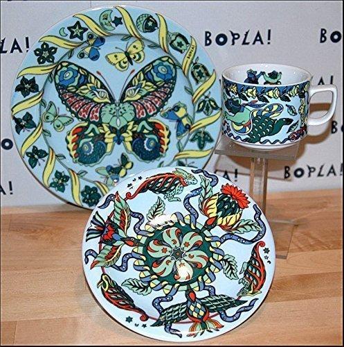 coperto per il caffè Luce colore blu BOPLA! porcellana évoulution TAZZA di caffè Orsacchiotti 0,18 l Piattino Rosetta 16cm Piattino del pane Farfalla 21cm tazza tazza tazza TAZA 0,18 l,1,8 dl,6-1/4