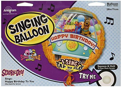 La Luftballons 2174001Folie Ballon, multicolor (Scooby-doo-ballons)